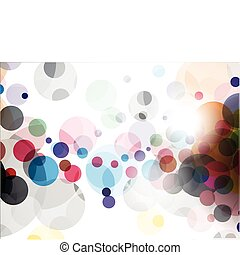abstract colourful backgroung - abstract colourful circle...