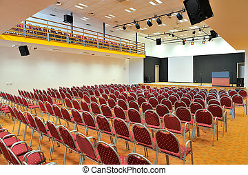 Conference room - Picture of prepared conference room for...