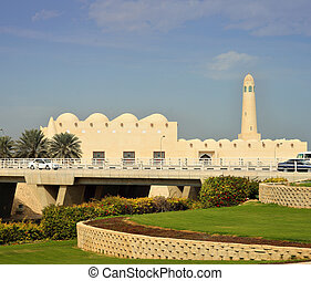 Qatars new State Mosque - The newly-built as of 2011 State...