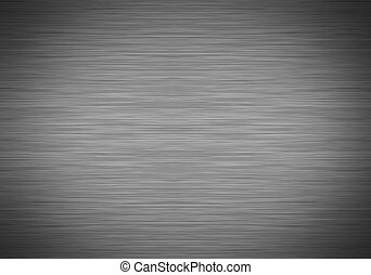 Brushed metal with vignette - Brushed metal texture with...