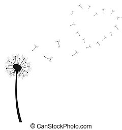 Dandelion Vector Illustration
