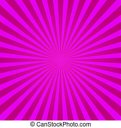 Purple Sunburst