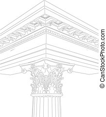Greek Corinthian Column