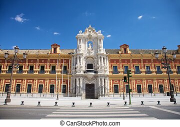 Saint Telmo Palace - public building at Seville city...