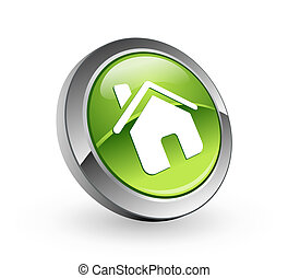 Home - Green sphere button