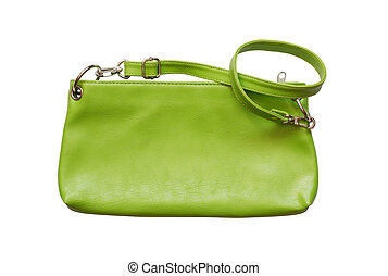Woman's Purse - Nice small woman's leather green bag....