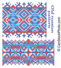 Pattern Old Russian - The complete set of patterns similar...