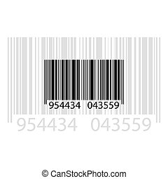 barcode - illustration of barcode