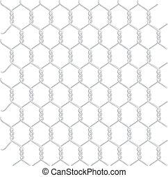 Braided galvanized wire
