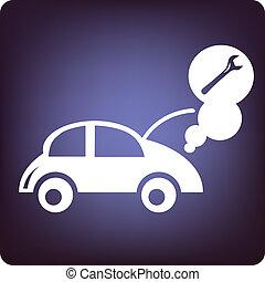 Car Repair - Tool with car repair.