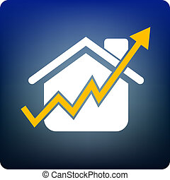 home price rise - price rising