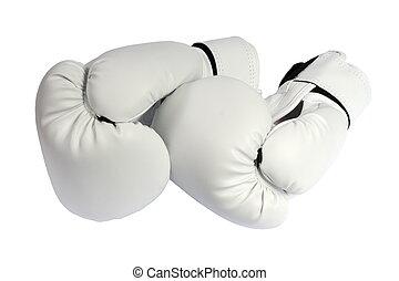 white boxing-gloves