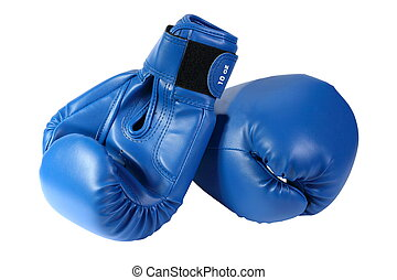 blue boxing-gloves