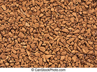 Grainy coffee - Grainy brown closeup dry coffee closeup...