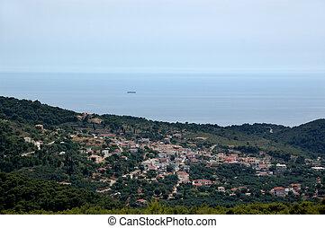 keri village - Traditional mountain village overlooking the...