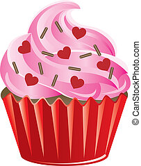 Valentine Sweets 2 - Vector Illustration of a Valentine...