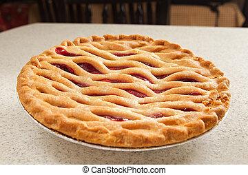 whole cherry pie