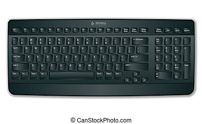 Black computer keyboard *** NOTE FOR EDITOR *** I confirm...