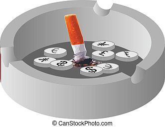 ashtray no smoke