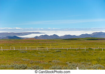 landscape near Gulfoss in Iceland - landscape near Gulfoss...