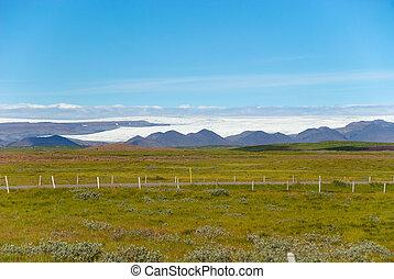 landscape near Gulfoss in Iceland - landscape near Gulfoss...