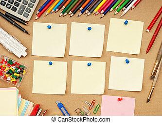 Calendar week - schedule of classes a week in school