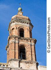 St Rita Belltower Church Conversano Apulia
