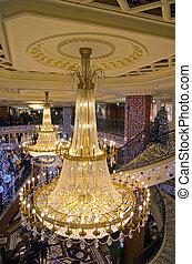 Shopping mall interior, Monaco France - MONACO - JANUARY 7:...