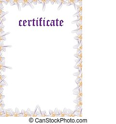 Certificate Template — Fill & Print Series