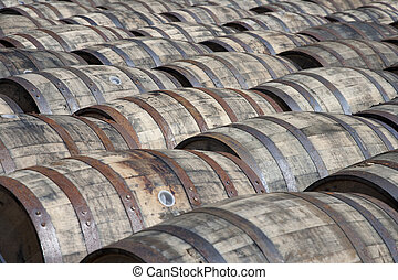 Whisky casks