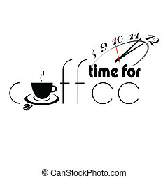 time for coffee part two illustration