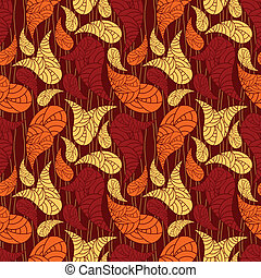 vector seamless paisley background clipping mask