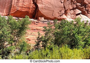 Canyon De Chelly - Canyon de Chelly entrance the Navajo...
