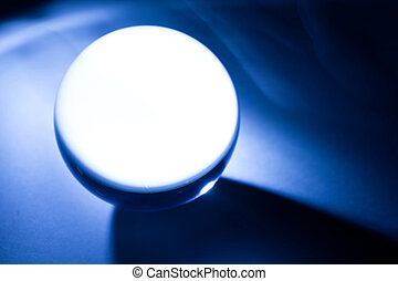 Crystal Ball - Blue Crystal Ball for background