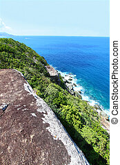 Shark Bay National Park - BVI - View of the Caribbean from...