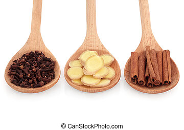 Clove, Ginger and Cinnamon Spice - Cloves, ginger and...