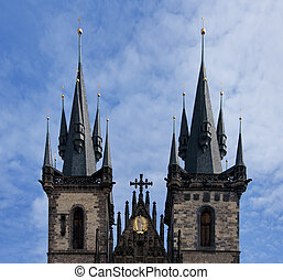 two towers of Our Lady Cathedral.