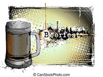 beer fest frame