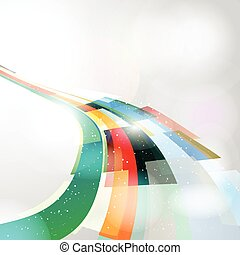 Abstract colours - Astract design background of brightly...