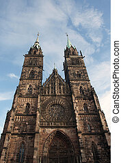 St Lawrence Church situated in Nuremberg, Germany