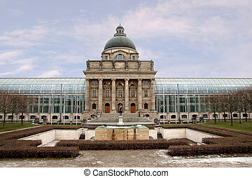 Staatskanzlei/State Chancellery in Munich, Germany
