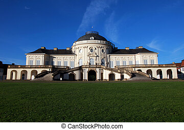 Solitude Castle in Stuttgart - The Solitude Castle in...