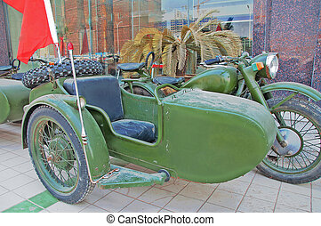 motorcycle with a sidecar 45 - Chang Jiang 750B-2...