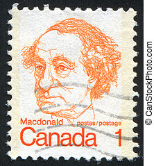stamp - CANADA - CIRCA 1972: stamp printed by Canada, shows...