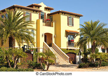 Beautiful three story spanish home - Beautiful three story...