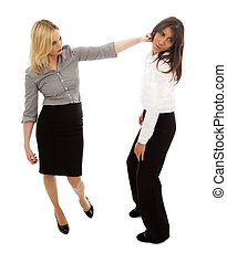 Bully - Workplace bullying one woman abusing another on...