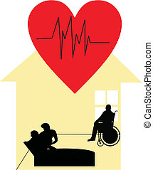 Palliative care at home - Hospice worker, in Home care,...