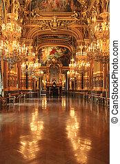 Opera Garnier in France Paris Tourist Destination