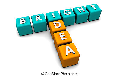 Bright Idea in Simple and Creative 3D Blocks