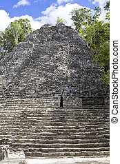 Mexico Archeologic zone of Koba